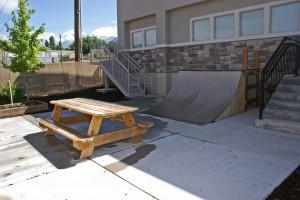 Residential Treatment 1 backyard